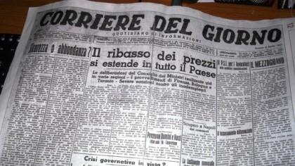 """Rinasce il """"vero"""" Corriere del Giorno fondato nel 1947"""