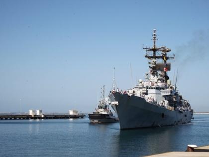 """Rientrato il cacciatorpediniere della Marina Militare """"Francesco Mimbelli"""""""