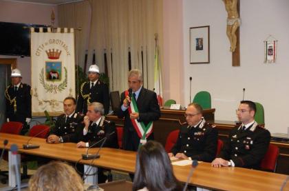 Conferimento del Comando Generale dei Carabinieri alla memoria di Ciro Vitale.