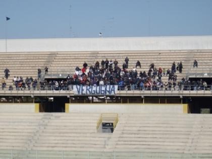Anche il Potenza ridimensiona il Taranto. Ed i tifosi (in trasferta) contestano squadra e società
