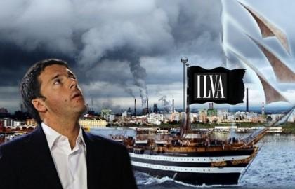 """Matteo Renzi: """"L' Ilva? Stiamo valutando un intervento pubblico: la salviamo e poi la vendiamo"""""""