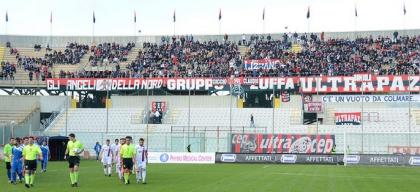 Il Taranto segna e vince 1-0 a tempo scaduto