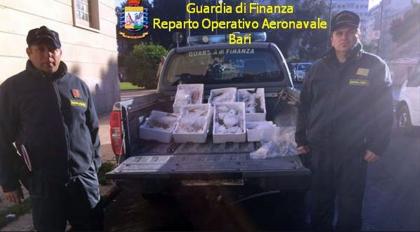 """Controlli e sequestri della Guardia di Finanza al mercato rionale  """"San Giuseppe"""""""