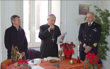 Messa natalizia per tutti i marittimi ed operatori portuali di Taranto