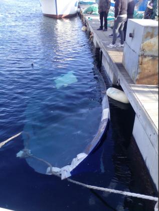 Affondato un altro peschereccio nel Mar Piccolo. La Guardia Costiera e la procura indagano