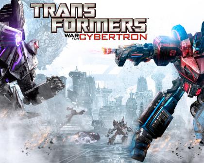 Transformers: War for Cybertron.  Robot prima dell'incognito