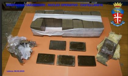 Arrestati due ginosini in trasferta con un carico di droga