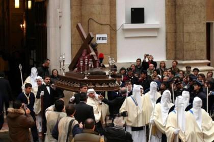 La processione dei Misteri cambia itinerario, come aveva previsto il Corriere del Giorno