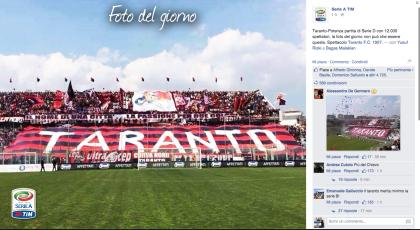 Lo stadio Iacovone la foto del giorno sito Lega A – Serie A Tim