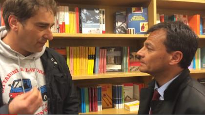 Lo scontro-incontro dei cittadini Liberi e Pensanti con l'on. Stefano Fassina (PD)