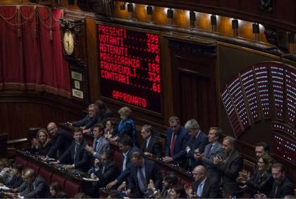 Nuovo sistema elettorale. L'Italicum è legge e le opposizioni lasciano l'aula