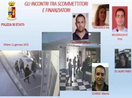 Calcioscommesse: 17 arresti tra Lega Pro, D e Eccellenza