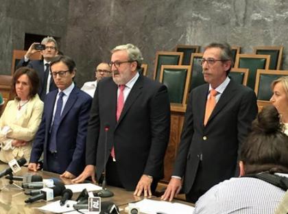 Michele Emiliano nominato Presidente della Regione Puglia
