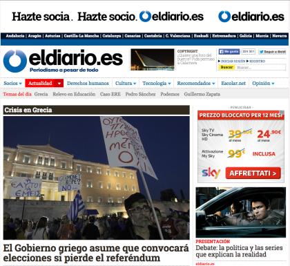 """Da """"Mediapart"""" a """"El Diario"""":  piccoli grandi giornalisti editori crescono"""