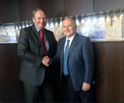 L' ambasciatore olandese in visita alla Camera di Commercio di Taranto