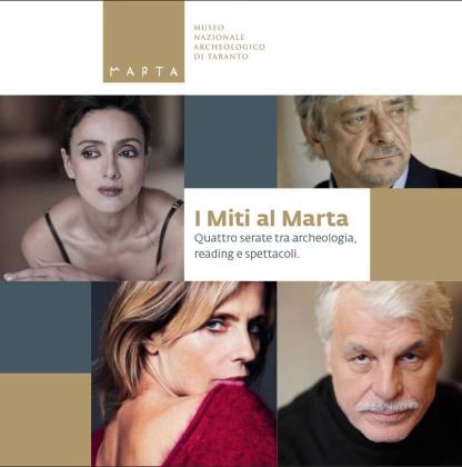 """I miti al """"Marta"""": quattro serate tra archeologia, reading e spettacoli"""
