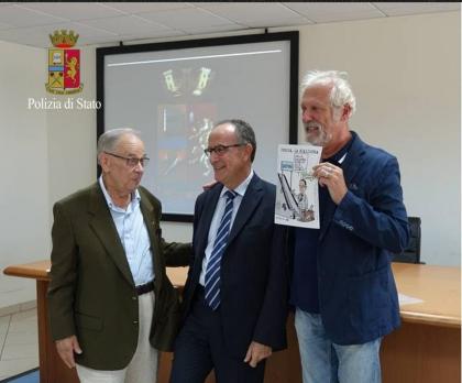 Il saluto  alla stampa del Questore di Taranto trasferito a Verona