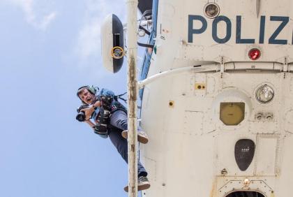 Il calendario di Massimo Sestini per la Polizia di Stato
