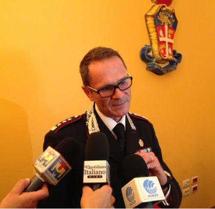 Insediato il Col. Molinese nuovo comandante provinciale dei Carabinieri di  Bari