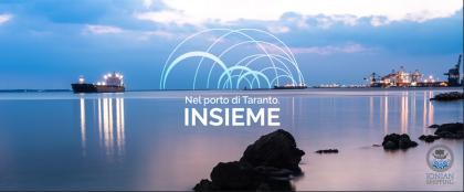 Nel Porto di Taranto. Insieme.  Lo Ionian Shipping Consortium prende il volo
