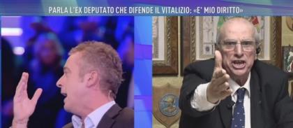 Urla e insulti a Canale 5 da Barbara D'Urso. Lo squallido ritorno di Giancarlo Cito in tv
