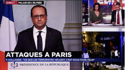 Parigi sotto attacco oltre 120 morti. Il Presidente Hollande chiude le frontiere