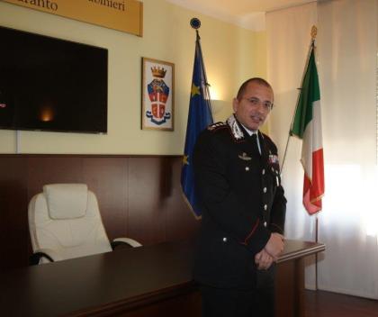 Insediato il nuovo comandante provinciale dei Carabinieri, Col. Andrea Intermite
