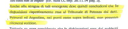 """I magistrati Argentino e Petrucci si  salvano """"tecnicamente"""" in Procura a Potenza . Ma la vicenda finisce alla commissione disciplina del CSM. E non solo …"""