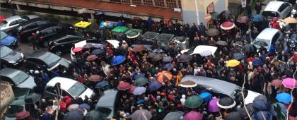 Taranto come Gomorra ?  Al funerale del pregiudicato Axo un corteo senza rispetto per le norme di legge