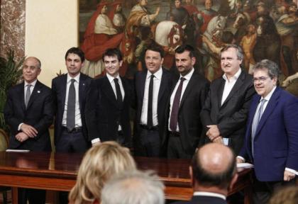 Renzi: da subito labanda largadell' Enel