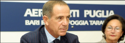 Sigilli a beni al manager Di Paola. La società pubblica Aeroporti di Puglia avrebbe pagato la vigilanza della sua casa