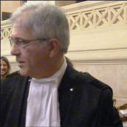 nella foto l'avvocato Giuseppe Campanelli