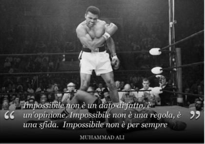 """Addio Cassius Clay-Muhammad Ali  """"leggenda""""  dello sport e nella vita"""