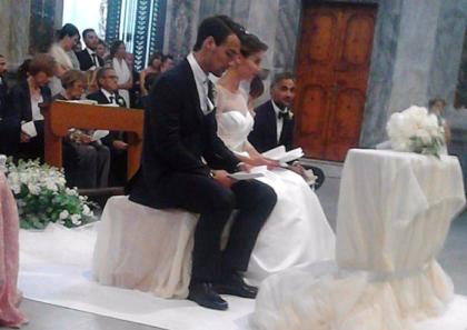 Pennetta-Fognini,finalmente sposi ad Ostuni