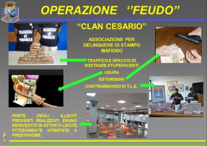 """Operazione """"Feudo"""" . Eseguiti dalla DDA di Lecce e Guardia di Finanza di Taranto 38 arresti. 27 per associazione per delinquere di stampo mafioso"""