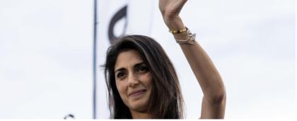 La grillina Virginia Raggi asfalta Giacchetti (Pd) e diventa il primo sindaco donna nella storia di Roma.