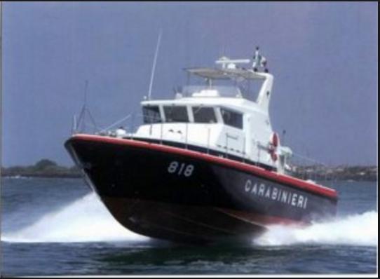 CC motovedetta