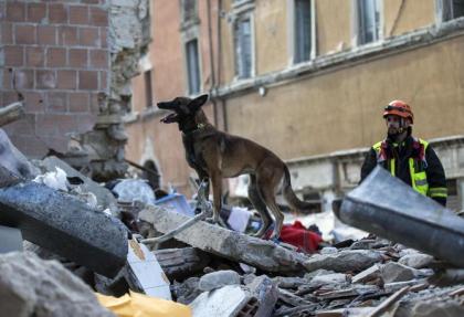 CdG terremoto soccorsi