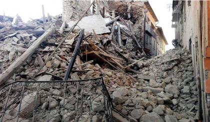 CdG danni terremoto