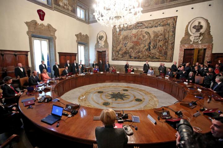 CdG consiglio ministri governo renzi