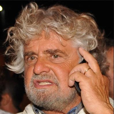 CdG Beppe Grillo telefono