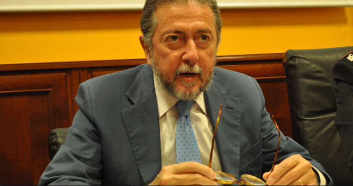 nella foto il procuratore capo di Lecce, Cataldo Motta