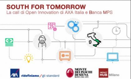 Prosegue South for Tomorrow, la call di innovazione di AXA Italia e Banca MPS per il Sud Italia