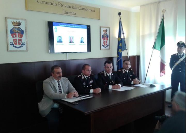 CdG conferenza stampa carabinieri