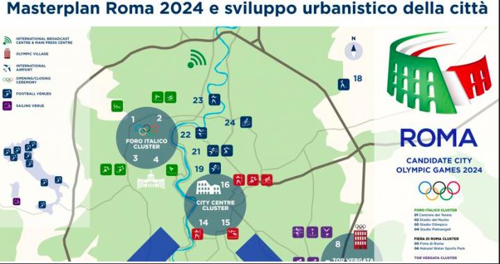 CdG masterplan roma 2024