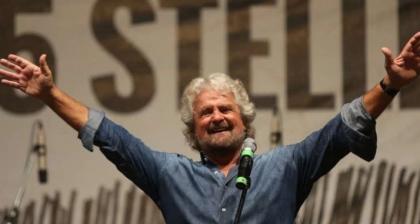 Con Beppe Grillo per difendere la Costituzione