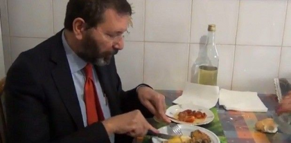 cdG Ignazio marino pranzo