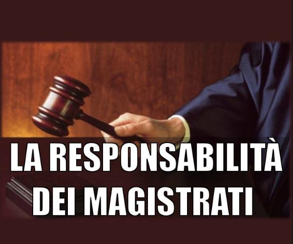 CdG magistrati responsabilità