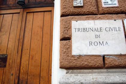 CdG tribunale civile roma