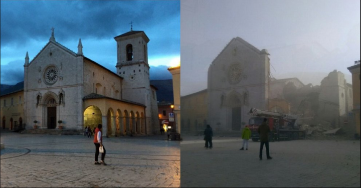CdG cattedrale Norcia